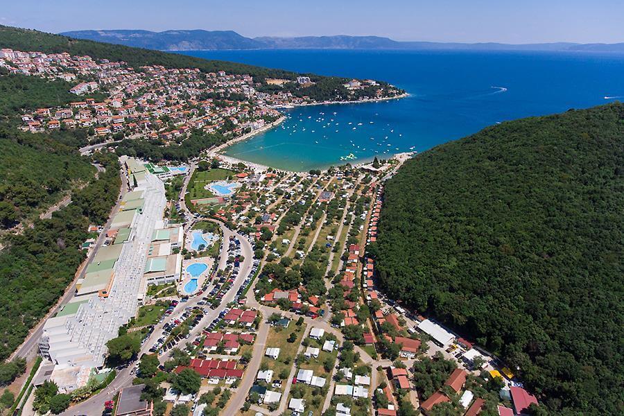 Horvátország Rabac Oliva kemping
